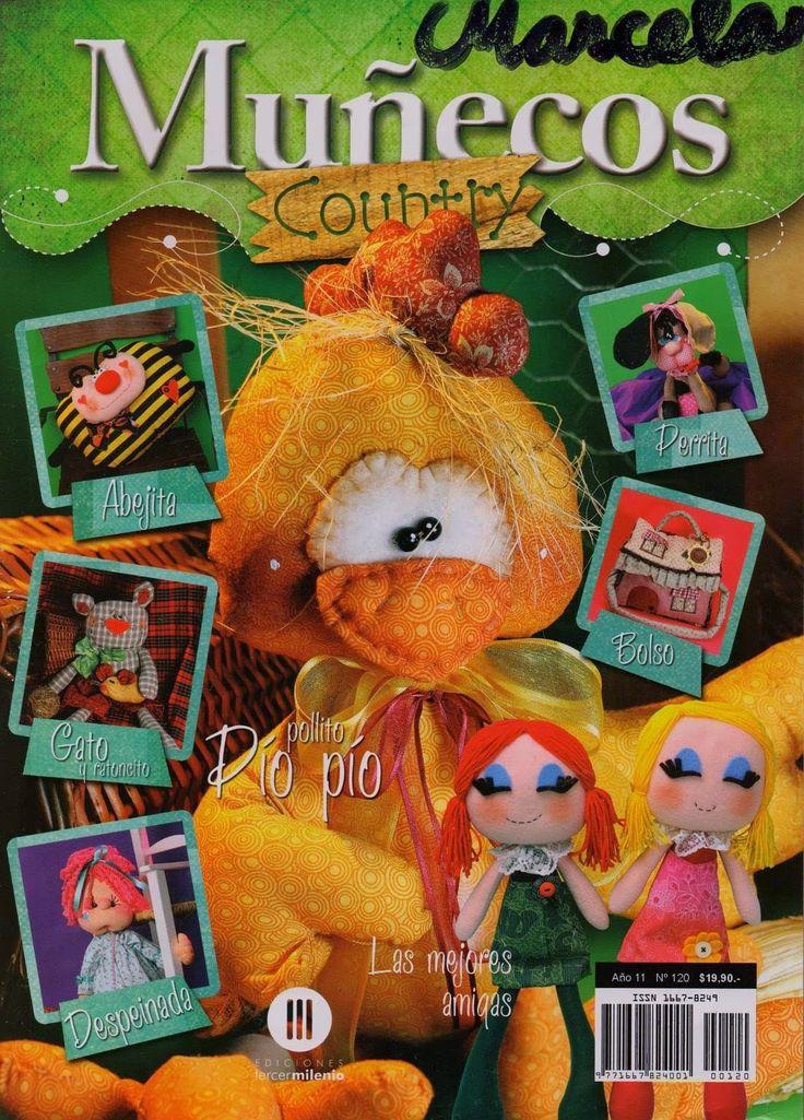 como hacer muñecos en fieltro