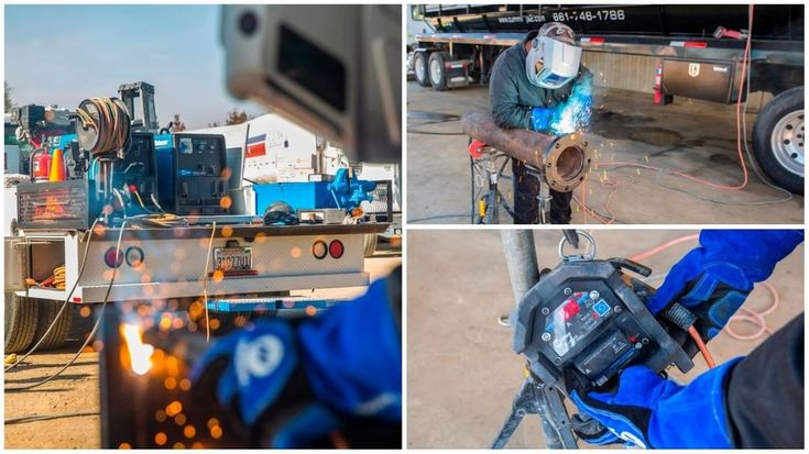 M & M Welding completes stick welding projects faster using the Trailblazer 325 welder/generator with ArcReach technology. The stick/TIG remote lets welders make changes and dial in the exact parameters they need right at the weld to help save time and improve weld quality.    #MillerWelders #welding