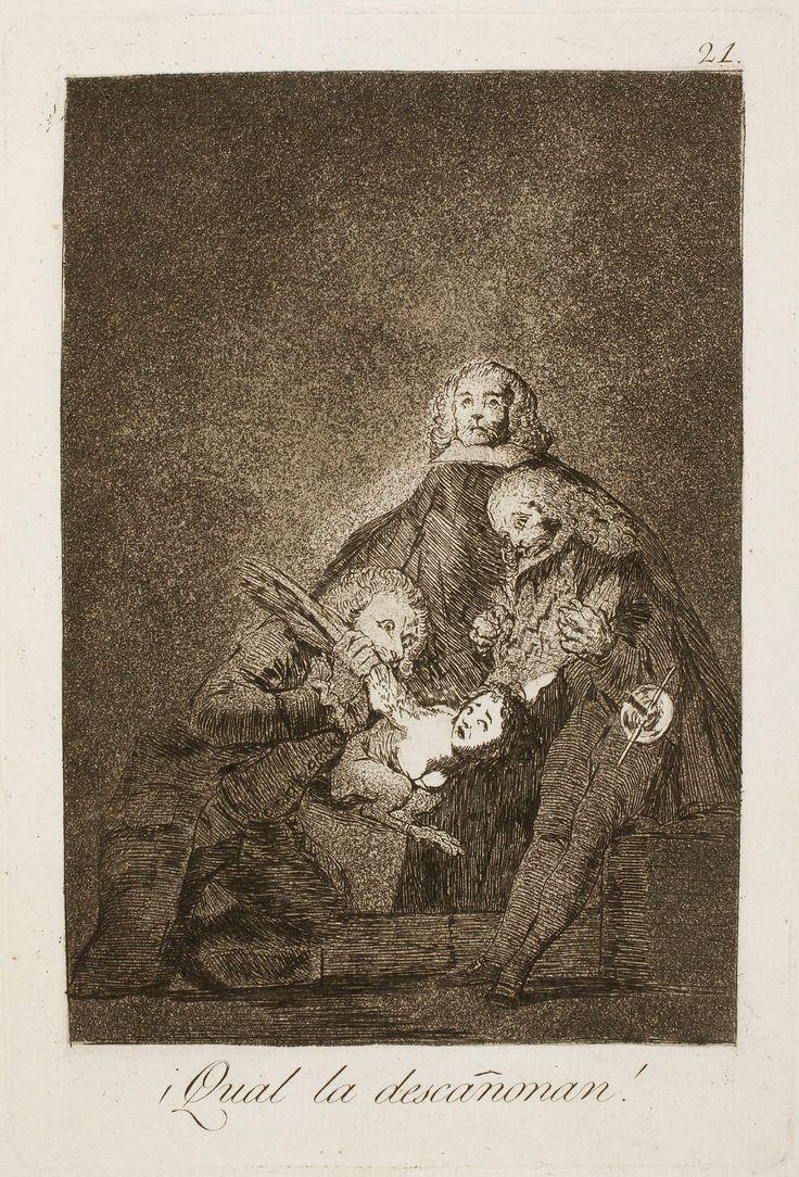 Museo del Prado - Goya - Caprichos - No. 21 - ¡Qual la ...