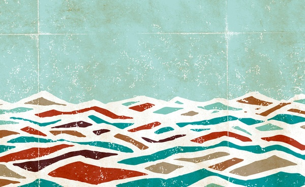Love this abstract ocean print.: Ss15 Waves, Patterns Inspiration, Abstract Ocean, Tattoo Inspiration, Offices Ideas, Waves Patterns, Ocean Prints