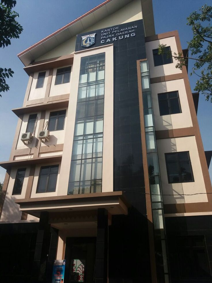 Suasana kantor baru UPPD Cakung