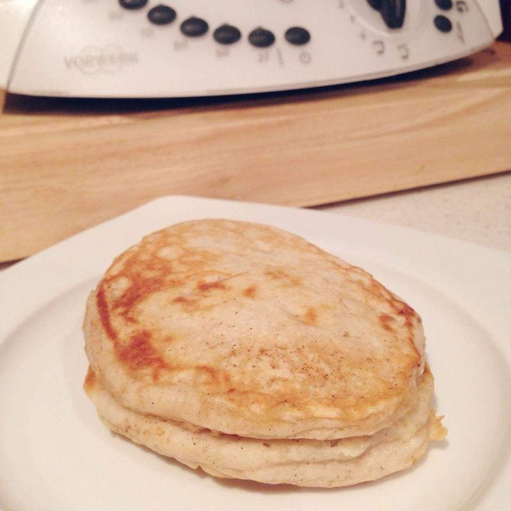 Recipe Banana & Cinnamon Pancakes by Alissa84 - Recipe of category Basics