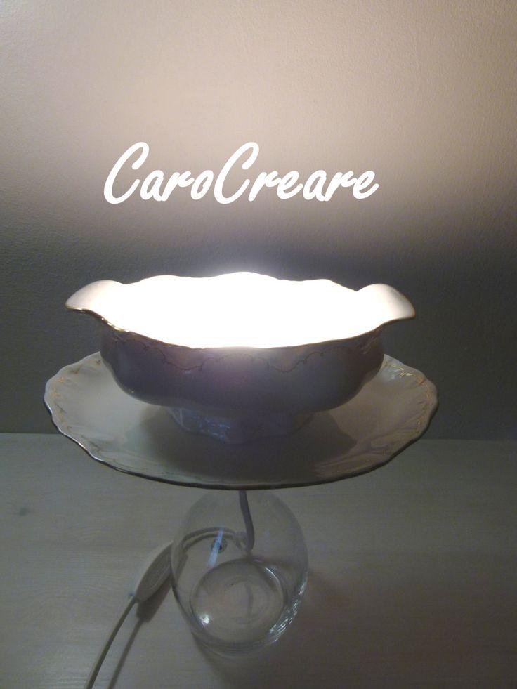 Zauberhafte Saucierenlampe von CaroCreare auf Etsy