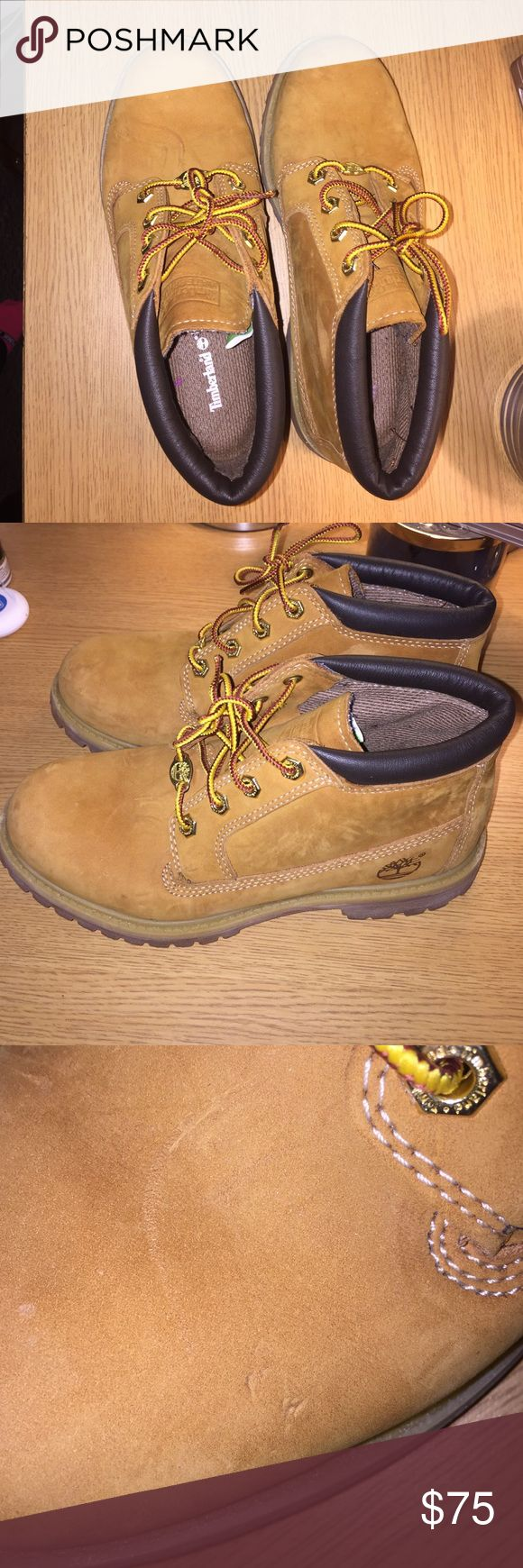 Women's Timberland Nellie Women's Timberland Nellie size 7, worn a few times, good condition with one small mark Timberland Shoes Winter & Rain Boots