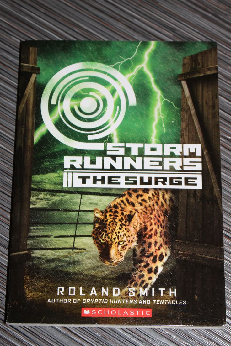 Storm Runners Book #2 The Surge  Author; Roland Smith  Isbn #978