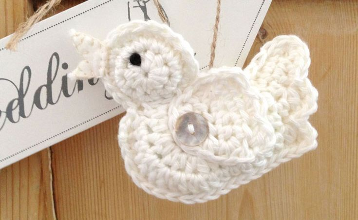 Crochet wedding birds                                                       …