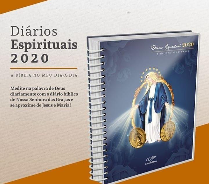 Diario Espiritual 2020 Nossa Senhora Das Gracas