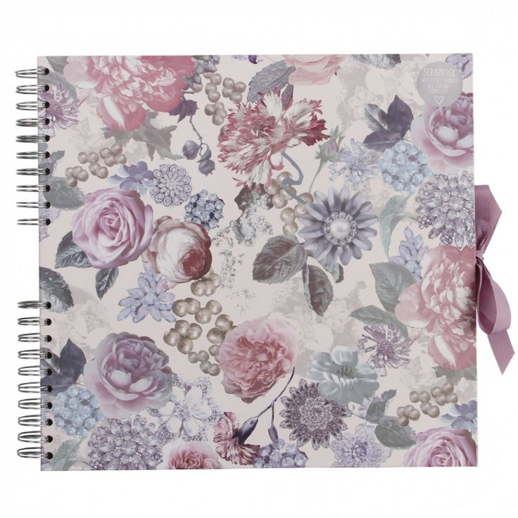 Wedding floral extra large scrapbook - Photo Albums & Scrapbooks - Home & Kitchen - Gifts & Home