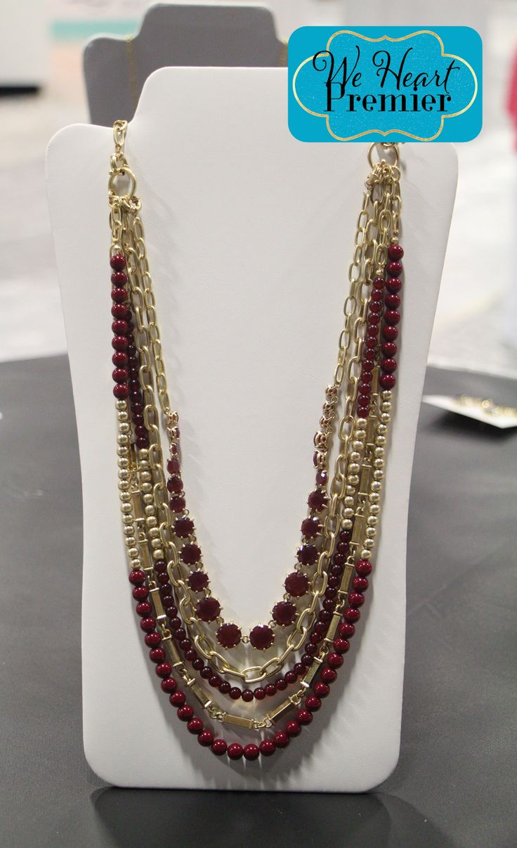 Work It necklace #PDstyle