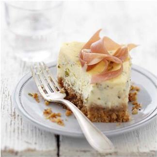 Cheesecake estragon et échalote - une recette Américain - Cuisine | Le Figaro Madame