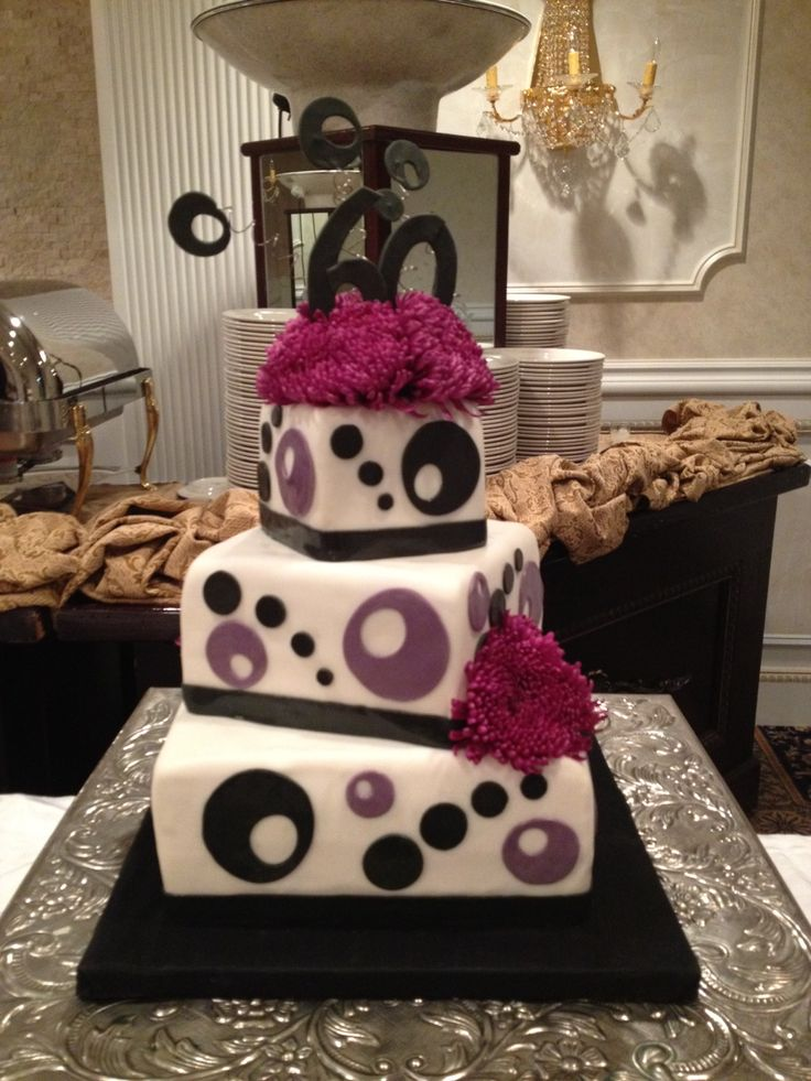Surprise 60th Birthday Cake Themed Cakes Pinterest