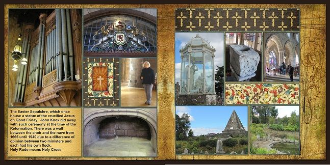 2014, Scotland, Stirling -Church of the Holy Rude - Scrapbook.com
