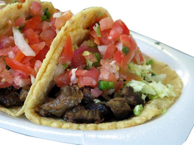 Tacos mexicanos de carne - YUM!!!