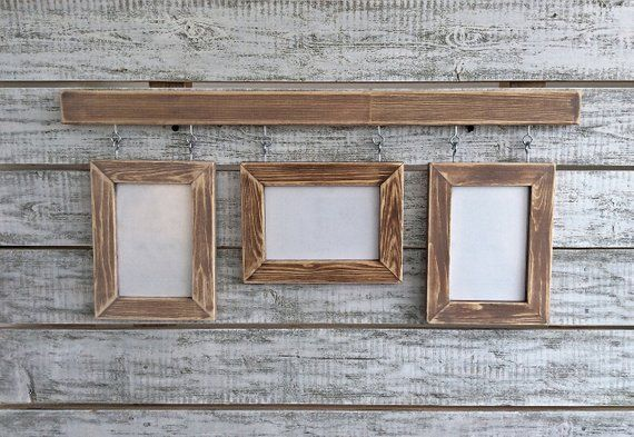 Lot of 6-4x6 Flat unfinished weathered rustic barnwood barn wood picture frames