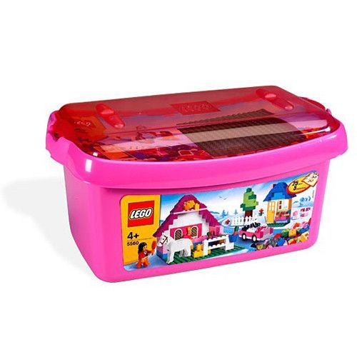 LEGO 5560 Pink Brick Box [402 pieces]