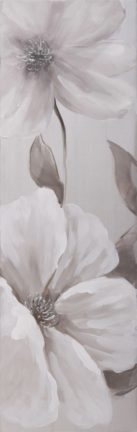 Modern Floral and Nature Painting Print on Canvas