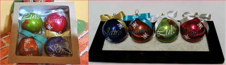 Lindas bolas y tarjetas navideñas para ti, para regalar o para recordar a alguien especial