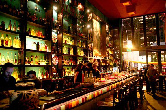 Lupita, Mexican Bar (Las Cañitas)  Crème Brûlée de Dulce de Leche + Pisco Sour