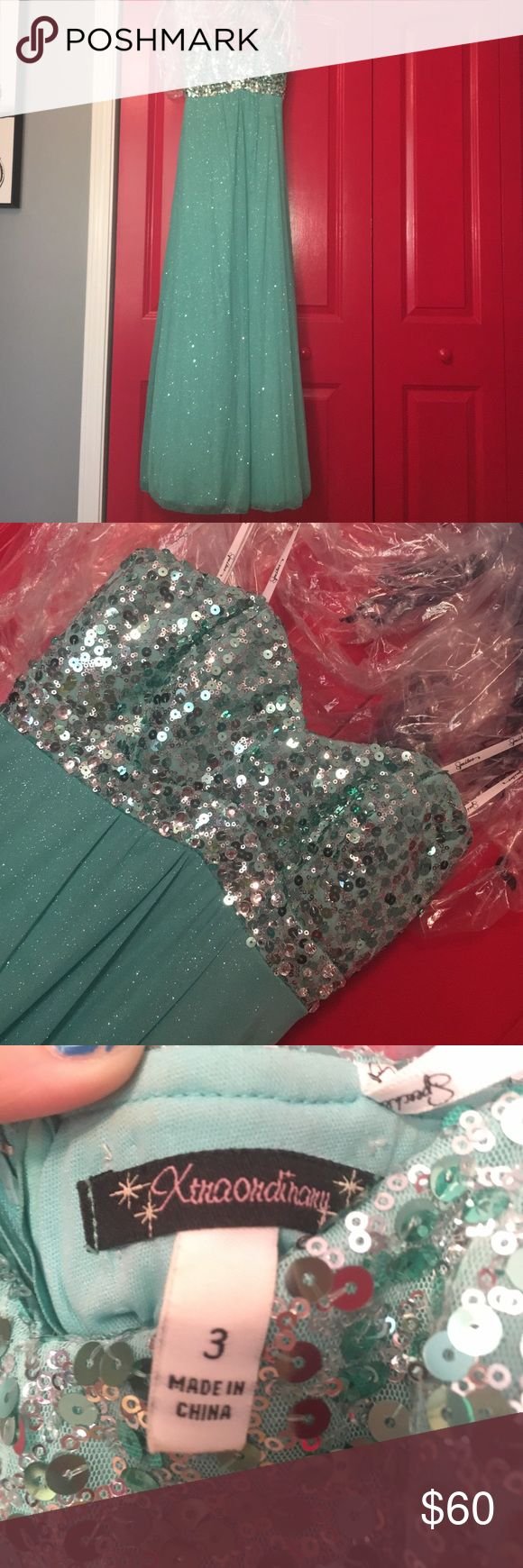 Formal Dress Worn one time & that was for a formal dinner on a cruise ship so it's like new. Xtraordinary Dresses Strapless