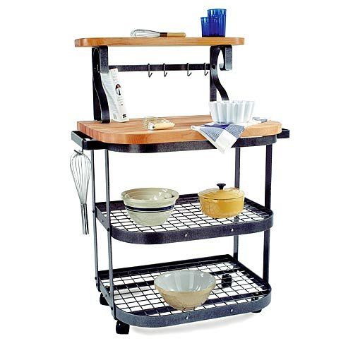 The Bakers Kitchen Cart