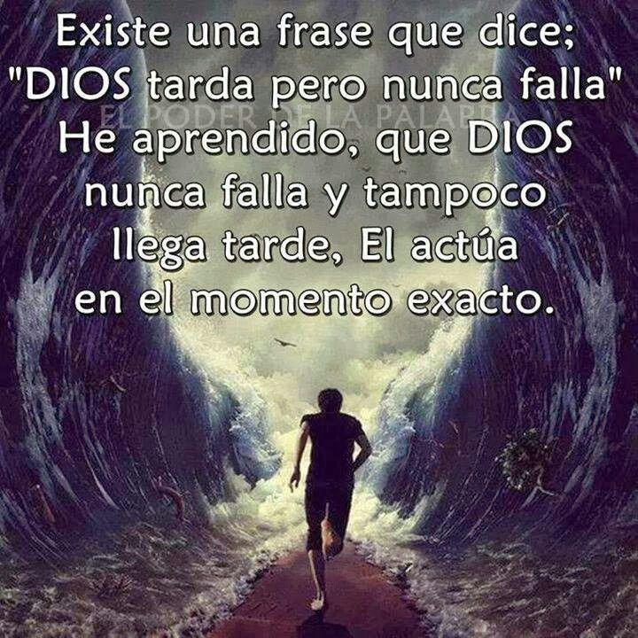 Dios no abandona.