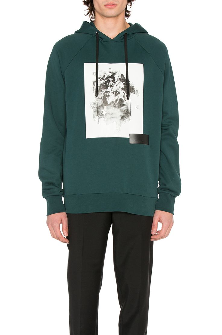 Public School Ervice Pullover in Dark Green