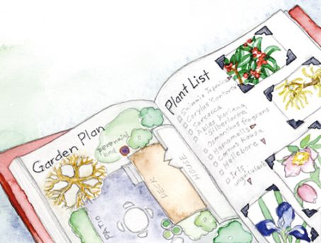 Winter Garden Journal:  Journaling Isn't Just For Spring, Summer and Fall!  Use the cold winter months to plan a new bed or an entire garden.  Get ideas by flipping through books, magazines and catalogues.  Paste inspirational pictures into a notebook with a list of plants you might want to use.  Draw a plan...   | OregonLive.com