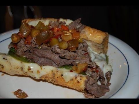 Authentic Chicago Johnny's Italian Beef Recipe From the Home Kitchen (Chicago Syle Italian Beef Sandwiches), ,