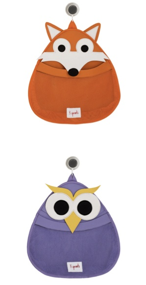 Cutest bath toy storage ever? Very likely!