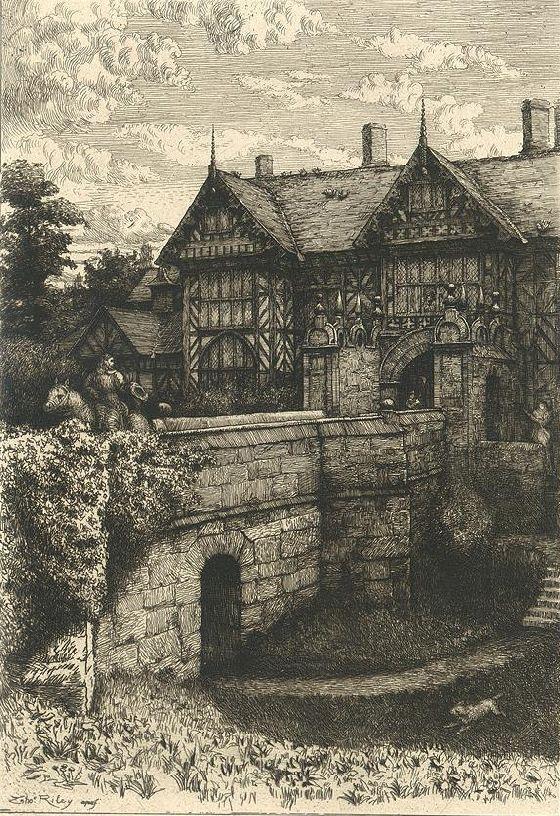 Speke Hall, Liverpool, 1882