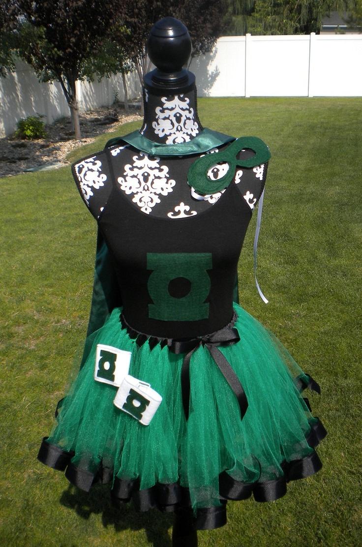 green lantern tutu costume for adults on etsy megan. Black Bedroom Furniture Sets. Home Design Ideas
