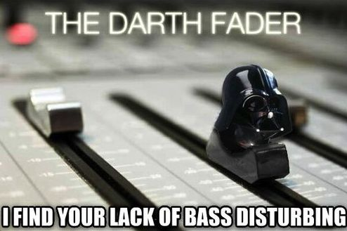 Hey Fader, drop the bass