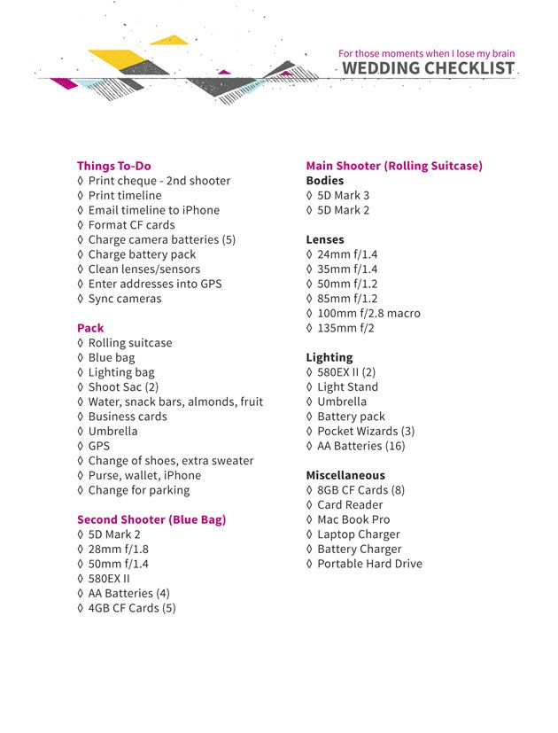 Wedding Photography List Of Shots Pdf: 1000+ Ideas About Wedding Photography Checklist On