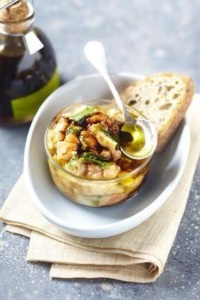 Tartare de poisson au condiment balsamique à l'olive verte du Château Virant