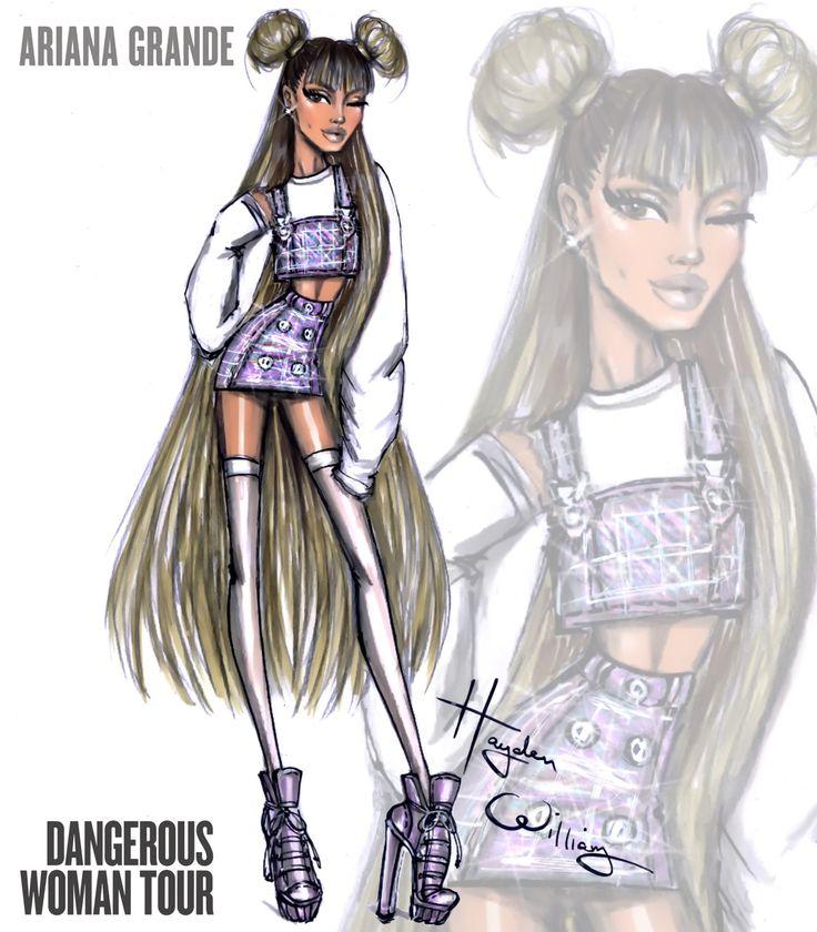 Ariana Grande 'Dangerous Woman Tour' by Hayden Williams: Look 3