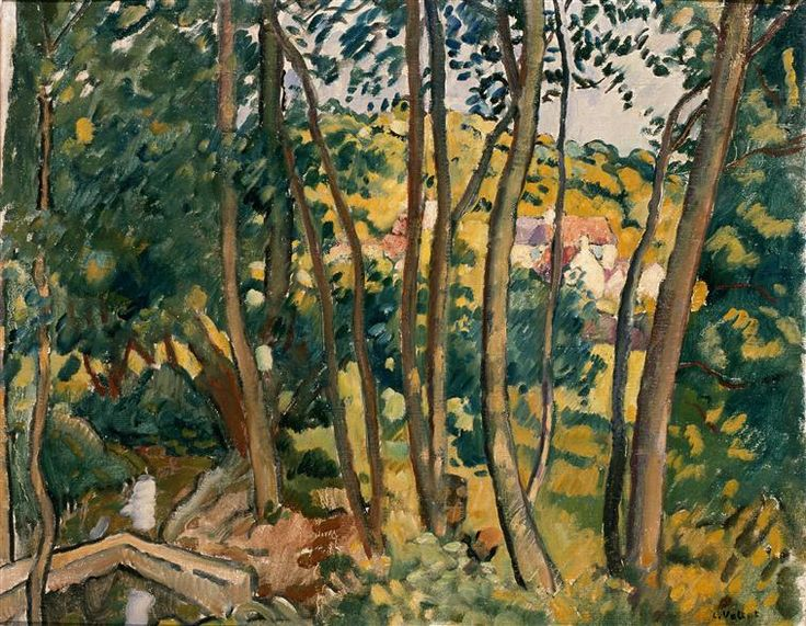 Louis valtat fr 1869 1952 vall e de chevreuse 1937 for Chevreuse piscine