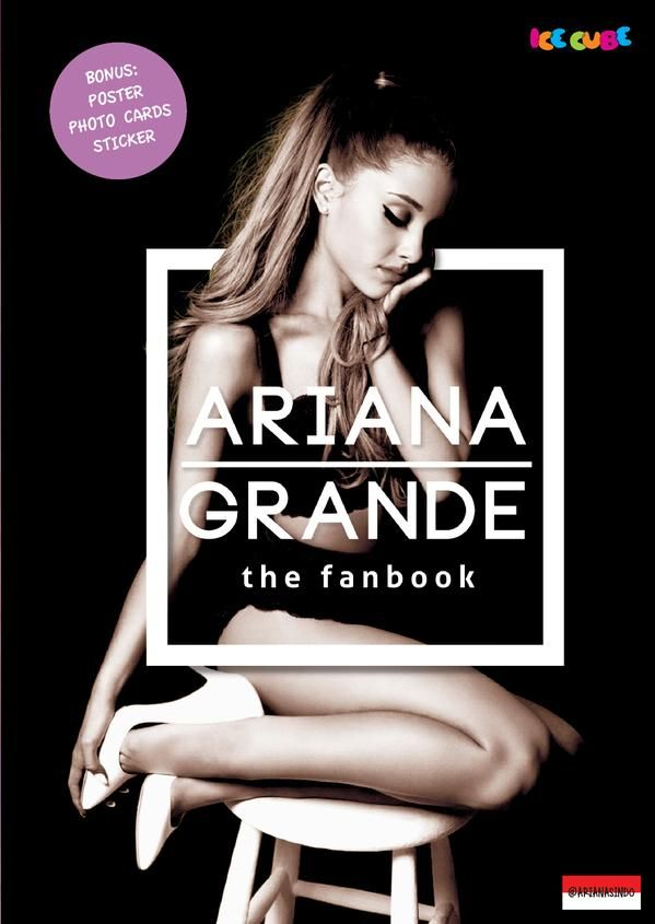 Ariana Grande the fanbook by Ariana's Indo! Published on 12 October 2015.