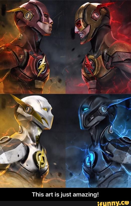 Flash vs Reverse Flash; Godspeed vs Zoom