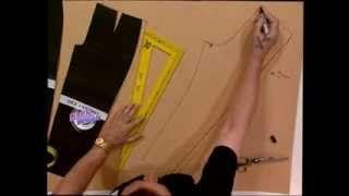 Hermenegildo Zampar - Bienvenidas TV - Explica como hacer el molde de una calza