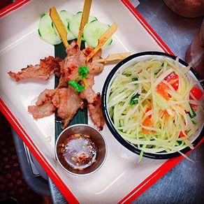 SLA Thai cafe restaurant in montclair New Jersey