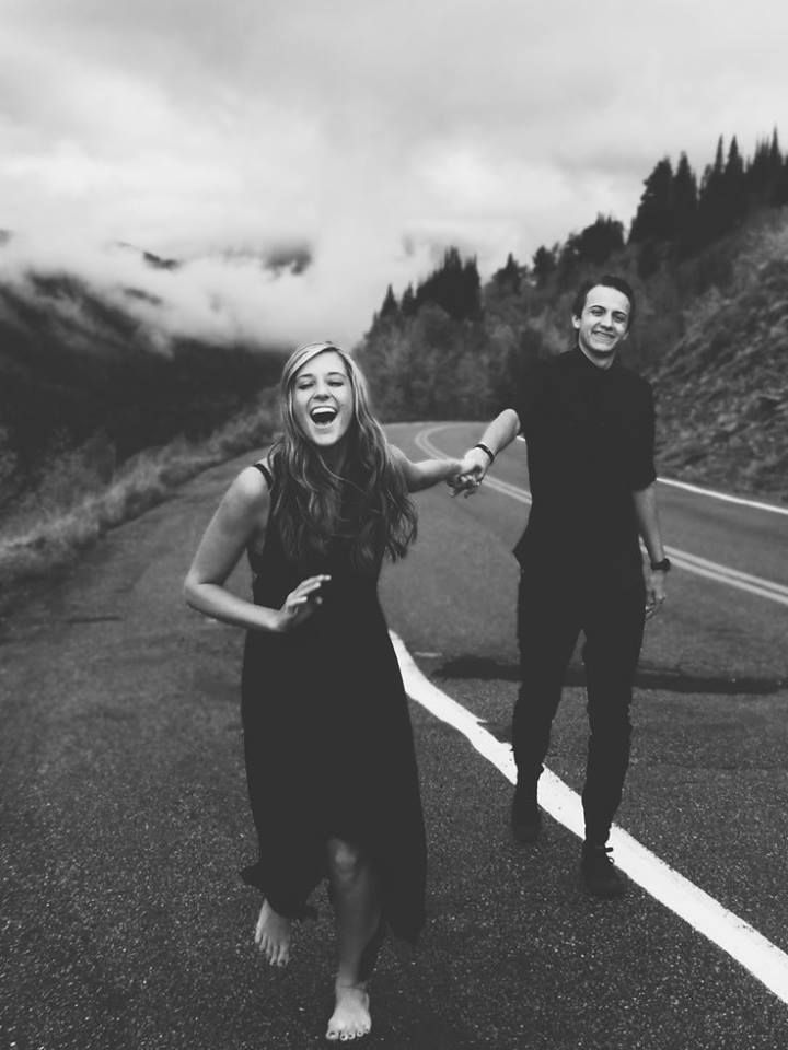 #couple #road