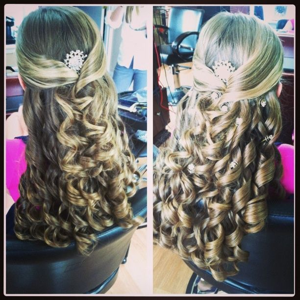 Bat Mitzvah Hairstyles Stunning 7 Best Bat Mitzvah Hairstyles Images On Pinterest  Wedding Hair