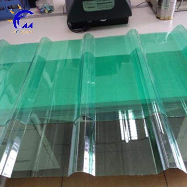 Wholesale Products corrugated plastic sheet / corrugated polycarbonate sheeting