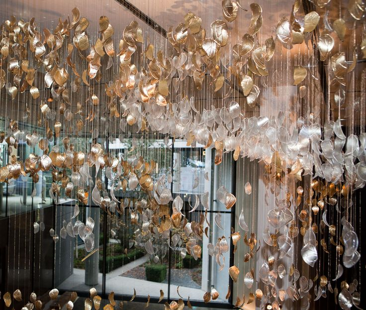 37 best light installation images on pinterest chandeliers spoon heads one hyde park lobby eva menz design glass installation chandelier art design mozeypictures Images