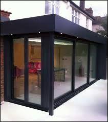 Image result for black framed conservatory