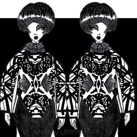 Sketch n design by melody utomo putri