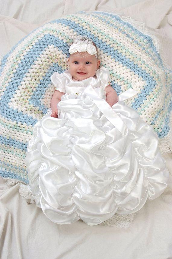 45 best Baby Blessing Dresses images on Pinterest | Baby blessing ...