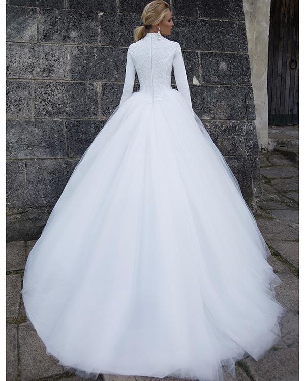 Item Type Wedding Dresses Back Design Zipper Silhouette Ball Gown