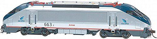 HO Spectrum HHP-8 w/DCC, Amtrak/Acela #663 by Bachmann Trains
