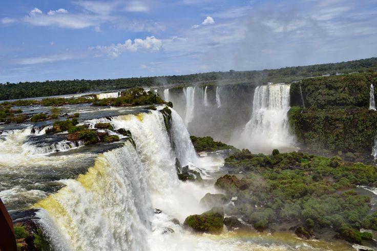 CAMINHOS: Cataratas do Iguaçu - Brasil ou Argentina?